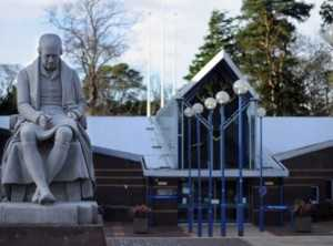 Heriot Watt University статуя