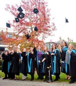 Kingston University graduation party 2