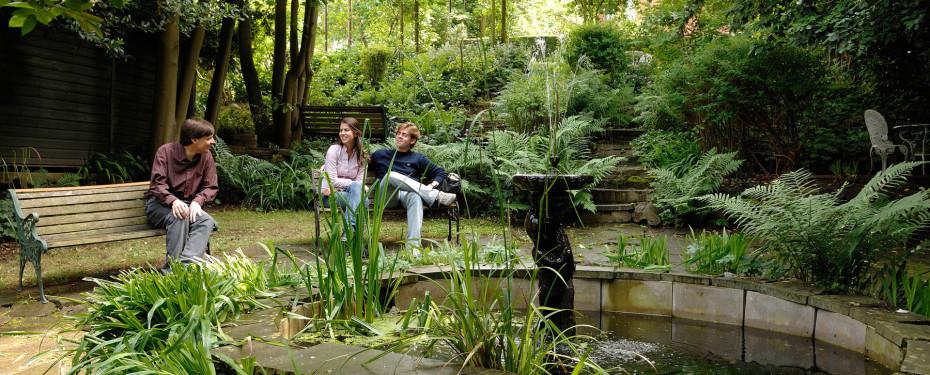 grossbritannien london st gilles highgate garden